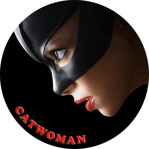 Catwoman Sticker Car