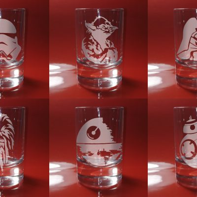 Shot Glasses Star Wars