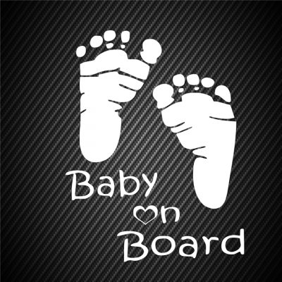 Baby on board Feet