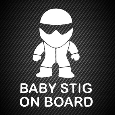 Baby Stig on board 2