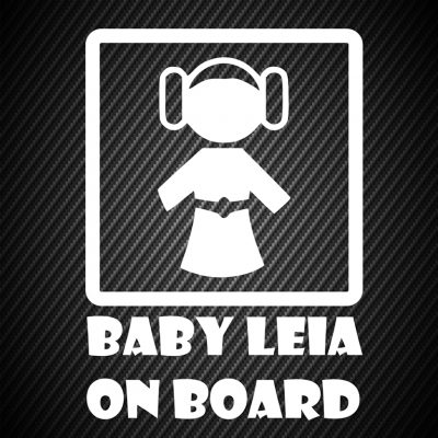 Baby Leia on board