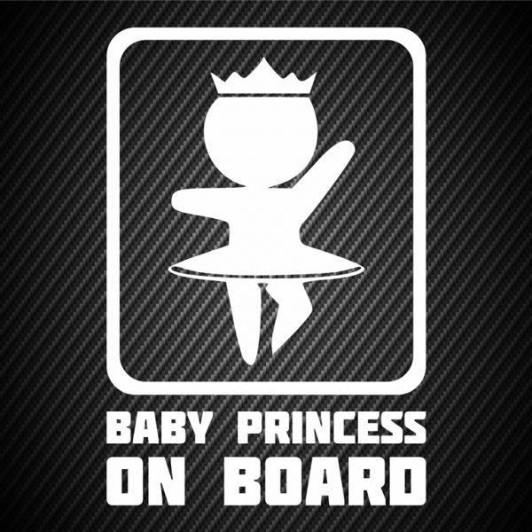 Baby princess on board