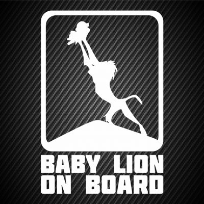 Baby Lion on board