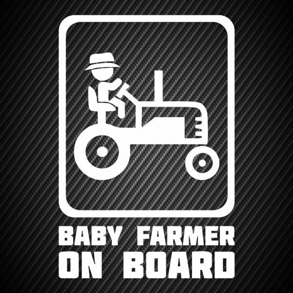 Baby farmer on board