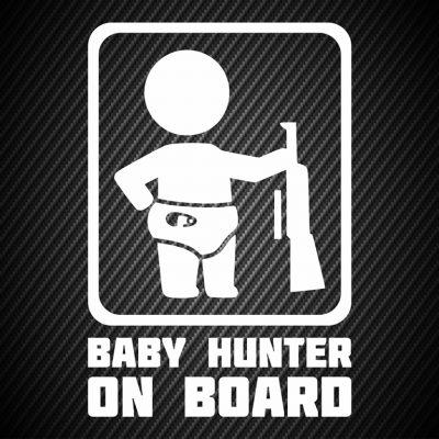 Baby hunter on board