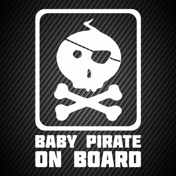 Baby pirate on board