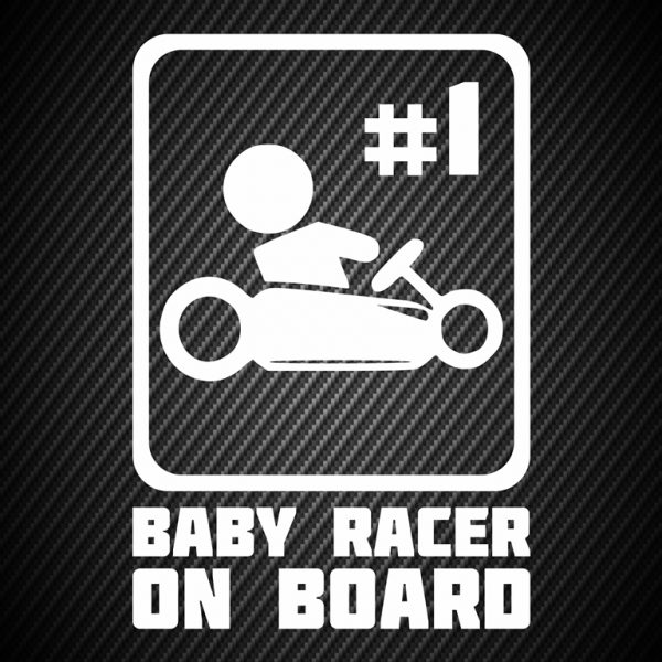 Baby racer on board