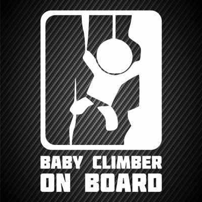 Baby climber on board