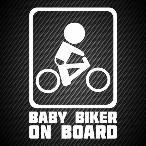 Baby biker on board