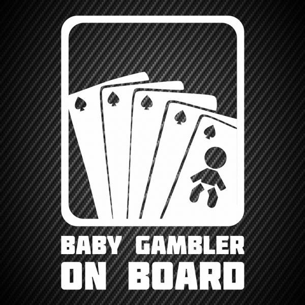Baby gambler on board