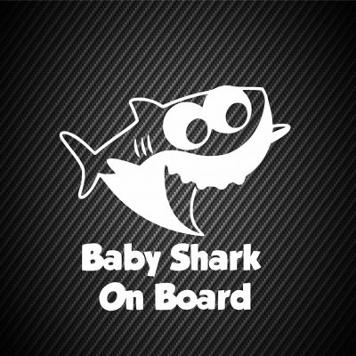 Baby shark on board