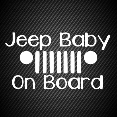 Jeep baby on board